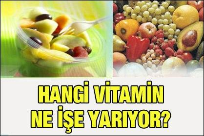 Kalori değeri olmayan besinler: vitaminler, mineraller ve su