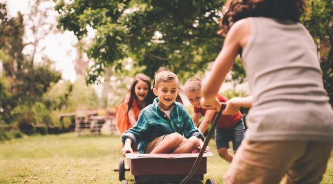 Çocuklarınızı doğadan uzak tutmayın