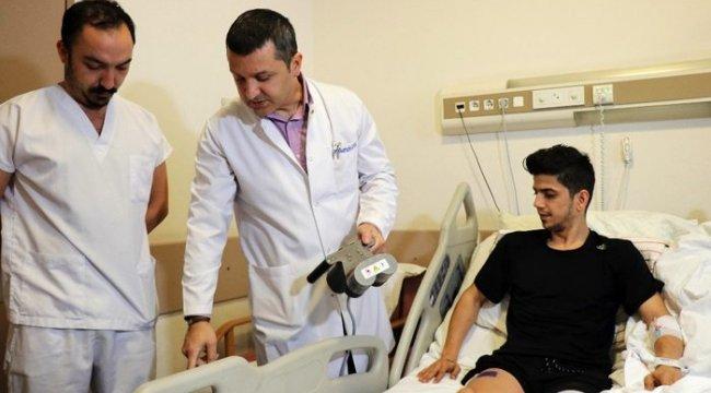 Sakarya'da bir ilke imza atılarak boy uzatma ameliyatı gerçekleştirildi