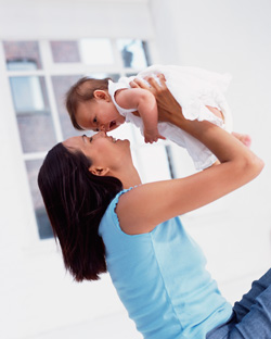 Tüm enerjiniz bebeğinize gider
