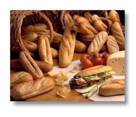 Makarna ve beyaz ekmek