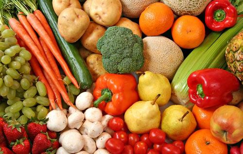 Kemikler için en iyi yiyecekler: sebze ve meyveler