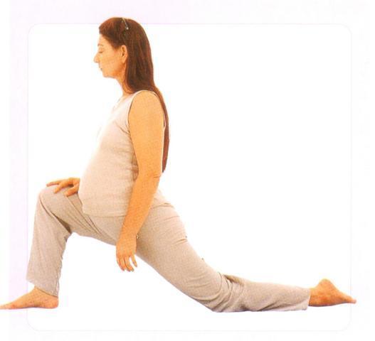 Hamleler ve bacak esnetme hareketleri (ayırmalar)
